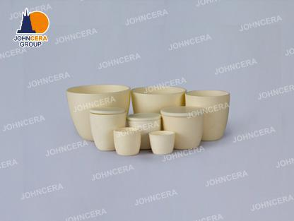 Low Form Arc Corundum  Crucibles / Alumina Crucibles