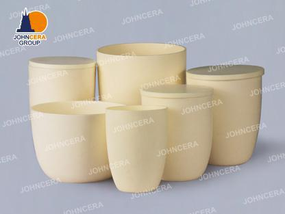 High Form Arc Corundum  Crucibles / Alumina Crucibles